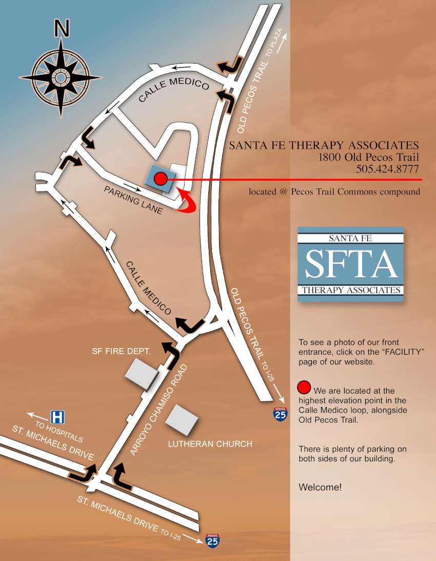 Santa Fe Therapy Associates - 1800 Old Pecos Trail